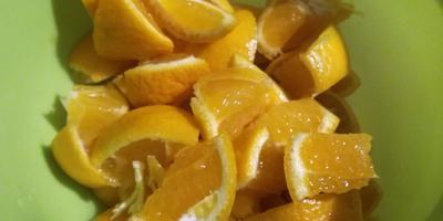 Зимние кексики с мандаринами