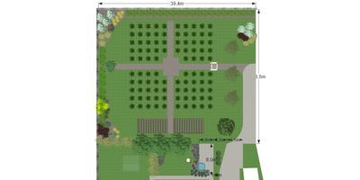 Деревня или дизайн-2 Планировка участка