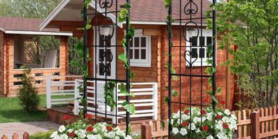 Обустраиваем и украшаем придомовой участок с помощью продукции компании ХитСад