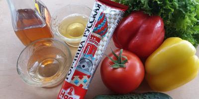 Горчица русская HAAS - основа пикантной заправки для салата