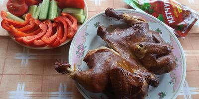 Копченая курочка с шашлычным кетчупом «Махеевъ» - все на пикник!