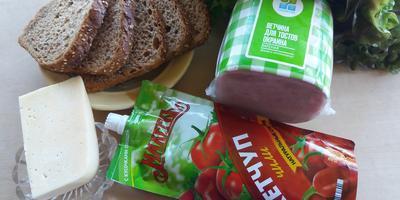 """Горячие бутерброды с кетчупом чили """"Махеевъ"""" - быстрая закуска!"""