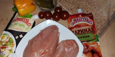 Гирос со сладкой куриной грудкой в маринаде барбекю «МахеевЪ»