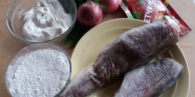 Треска в сметане с кетчупом чили «МахеевЪ» - нежно и сочно