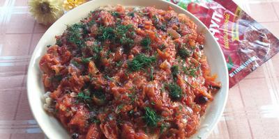 Филе минтая в маринаде с кетчупом шашлычный «МахеевЪ» и пряностями