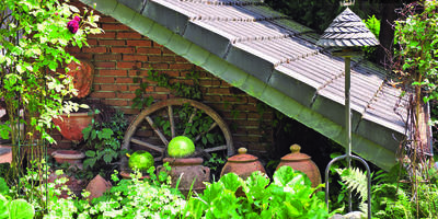 Лень деревенская: оформляем участок в стиле кантри