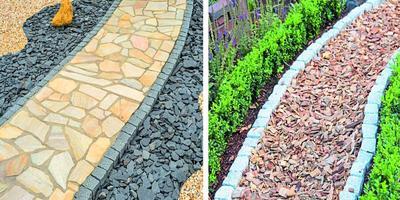 Садовые дорожки: выбираем материалы, формы и окружение