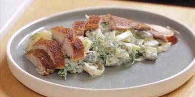Немецкий Мужской салат