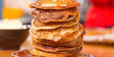 Готовим нежные оладушки и фантастически вкусное медовое масло к ним