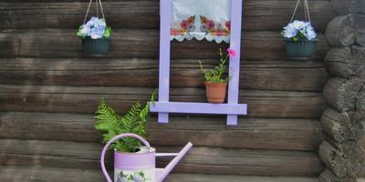 Садовые панно для сарая