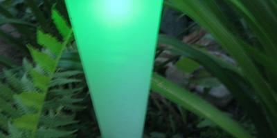 Садовые светильники со сменой цвета из ОБИ