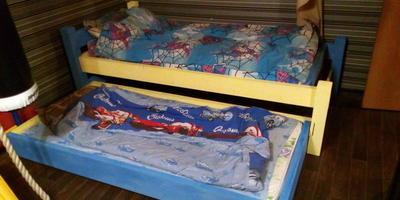 Выкатная кровать своими руками!