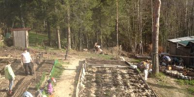 Ура! Мы построили баньку!!!