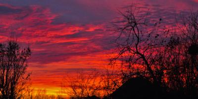 Галерея фотоизбушки: закаты