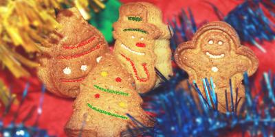 Рождественское Имбирное Печенье