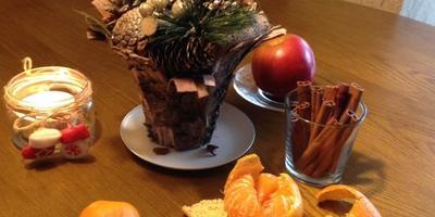Мандариновые шпажки в декоре новогоднего стола. Все гениальное просто!