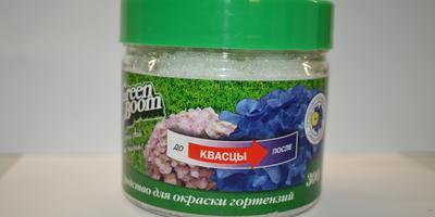Green Boom Средство для окраски гортензий
