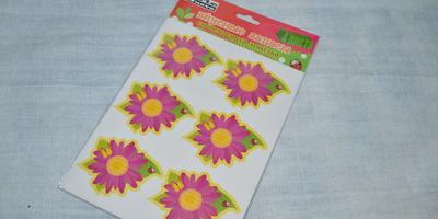 Наклейка Вкусные запасы Универсальная Цветок