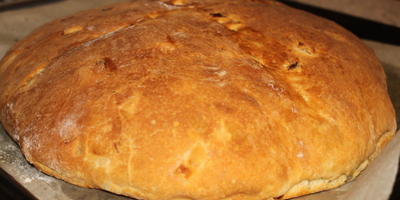 Домашний хлеб с луком