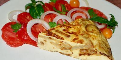 Тортилья или Испанский омлет