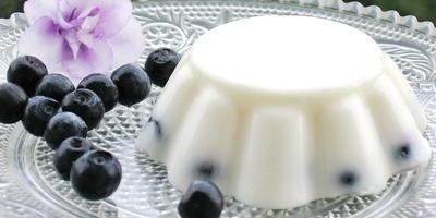 Творожно-сметанный десерт с желатином