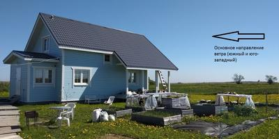 Помогите спланировать сад и защитить участок от ветров?