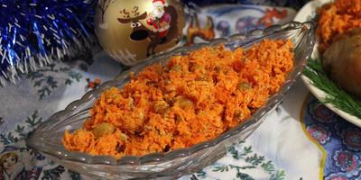 """Салат """"Оранжевое настроение"""" - кладезь витаминов и вкуса"""