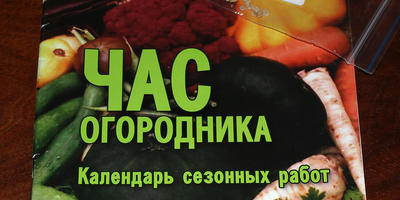 "Календарь огородника за фотоконкурс ""Межсезонье"""