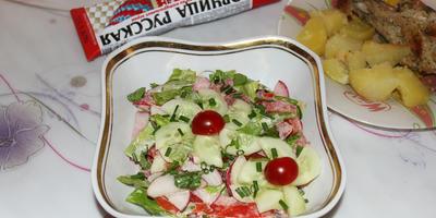 Овощной салат для любителей остренького: вся изюминка в заправке