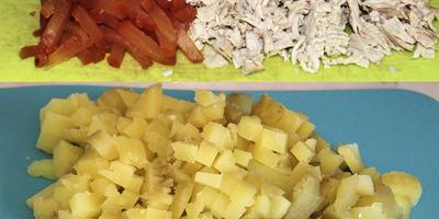 Первое блюдо пикника - окрошка с горчицей Haas