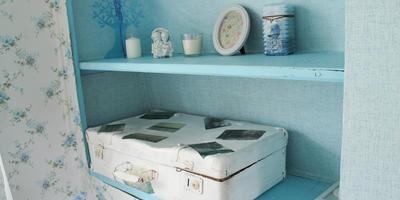 Как сделать стильный (и полезный!) арт-объект из старого чемодана