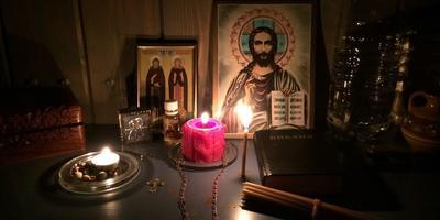 Крещение Господне и булочки с корицей (Синнабон)