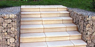 Лестница в сад своими руками: мастер-класс