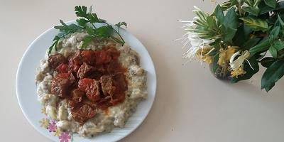 Готовим  «Хункар байилды» -  Мясо и салат из баклажанов (из турецкой кухни)