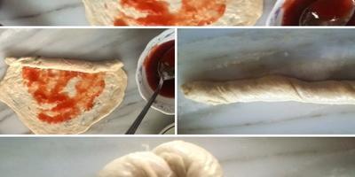 Слоёные булочки (из турецкой кухни)