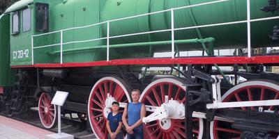 Наш Новосибирский музей железнодорожной техники