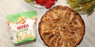 Песочное яблочное печенье из овсяной муки Кудесница