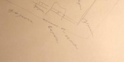 Помогите распланировать участок сложной формы