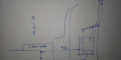 Помогите спланировать дворик между домом и летней кухней