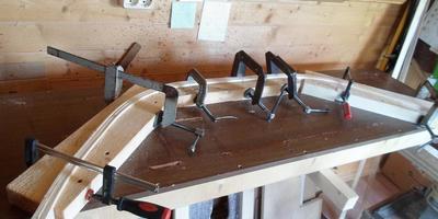 Изготовление гнутых перил для мостика