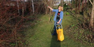 Тестирование опрыскивателя на колесах PALISAD LUXE. Опрыскивание растений в саду