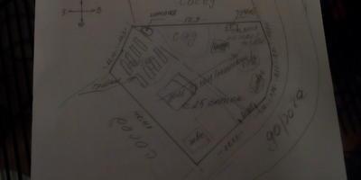 Помогите, пожалуйста, распланировать пустой участок неправильной формы площадью 25 соток