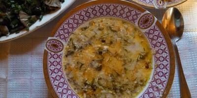 Грибной суп за 20 минут
