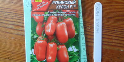 Томат Рубиновый кулон F1. III этап. Развитие растений и уход за ними. Пикировка