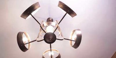 Современный дизайнерский подвесной светильник