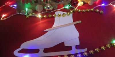 Новогодние коньки «Снегурки»