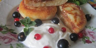 Сырники с сюрпризом: готовим вкусный десерт