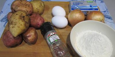 Картофельные пальчики - любимое блюдо нашей семьи