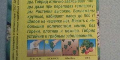 Баклажан Черный русский F1. Аналитический отчет