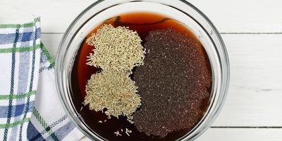 Шашлык из бараньих ребрышек в гранатовом соке